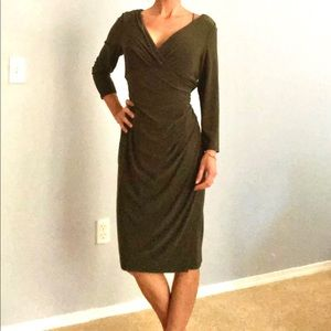 Ralph Lauren Faux Wrap Dress